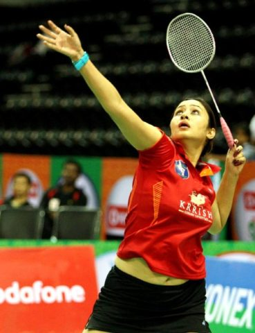 Top 10 Most Stylish Sportswomen of India- Jwala Gutta, Badminton