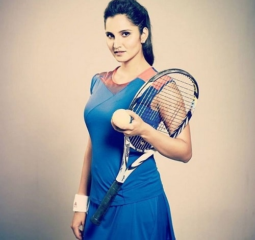 Top 10 Most Stylish Sportswomen of India -Sania Mirza, Tennis