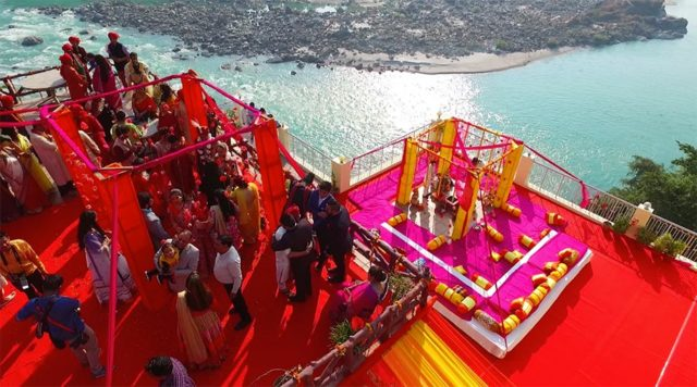 Top 10 Themed Wedding Destinations in India - Rishikesh