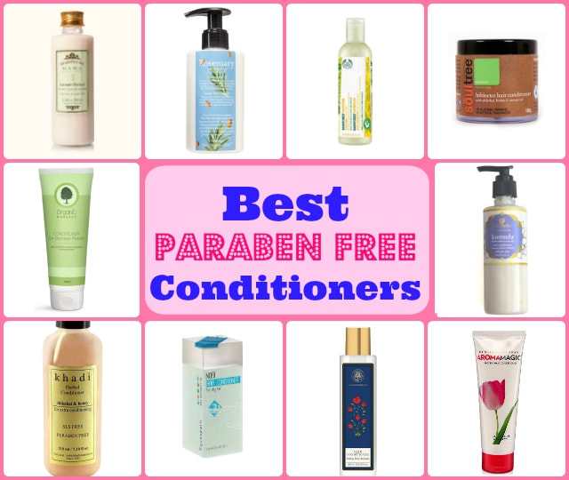 Best Paraben Free Natural Conditioners India Top 10 With