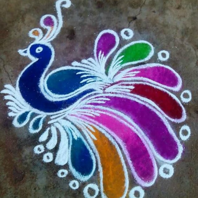 Best easy rangoli design images