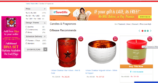 diwali-gift-ideas-with-giftease-com-candles-and-holders