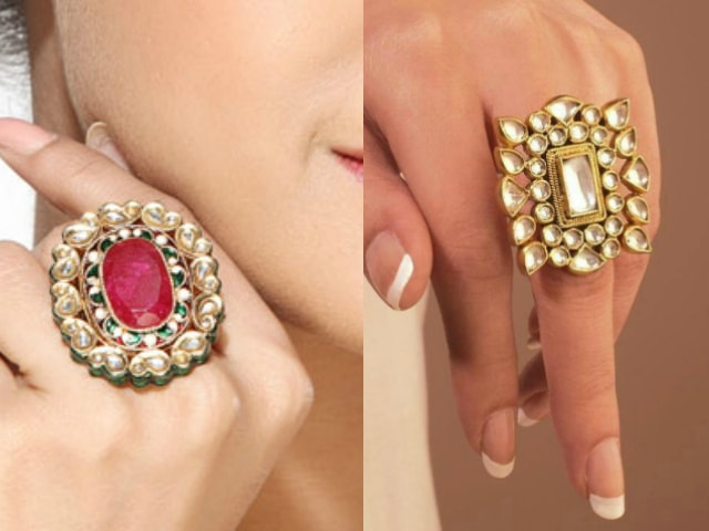 must-have-vintage-jewelry-for-indian-brides-antique-kundan-wedding-rings