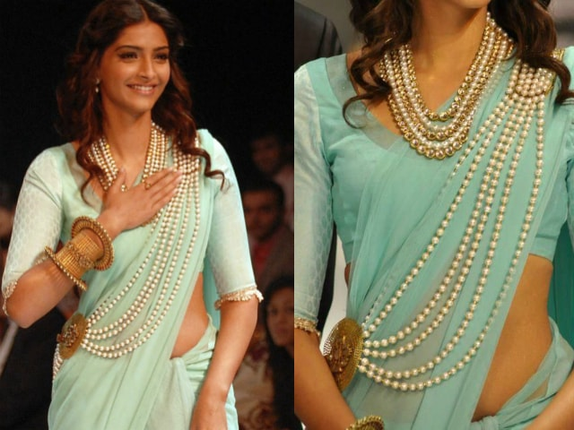 must-have-vintage-jewelry-for-indian-brides-pearl-saree-brooch-sonam-kapoor