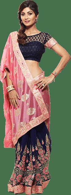shilpa-shetty-kundra-ssk-designer-sarees-on-homeshop18