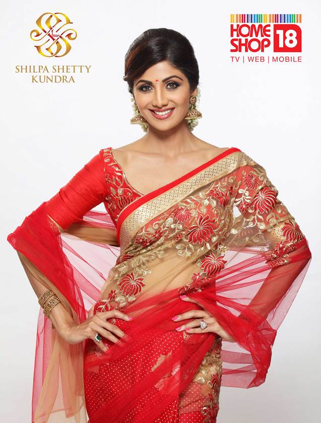 shilpa-shetty-kundra-sarees-on-homeshop18