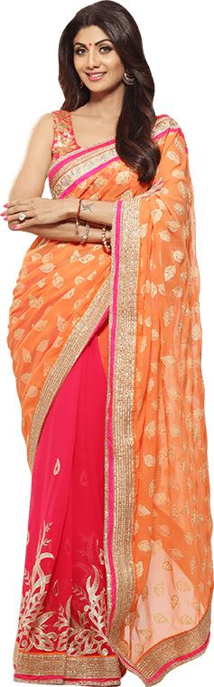 shilpa-shetty-kundra-designer-sarees-on-homeshop18