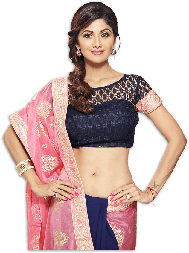 shilpa-shetty-designer-sarees-launching-on-homeshop18