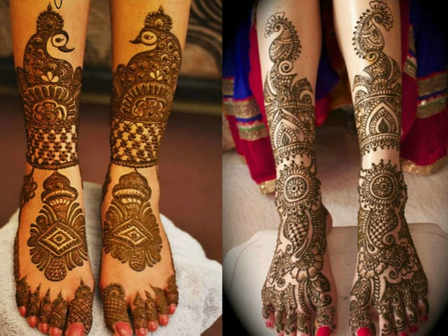 Trending Mehndi Designs 50 Latest Henna Tattoo Ideas For 2018: 15 Trending Henna Designs For Feet: Best Mehendi Designs