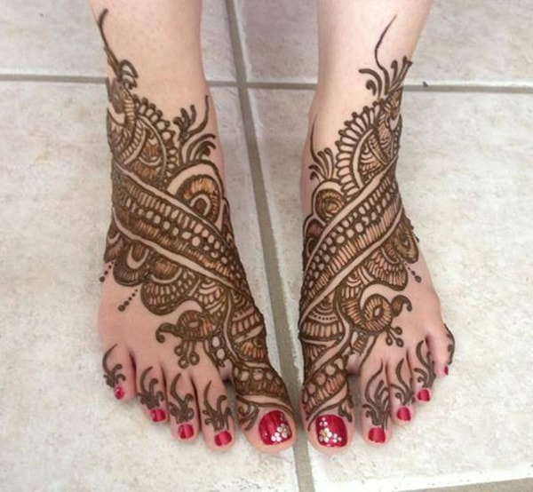 15 Trending Henna Designs For Feet Best Mehendi Designs Beauty