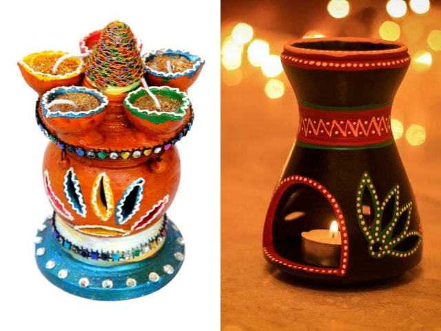 unique-diwali-gift-ideas-earthen-lanterns