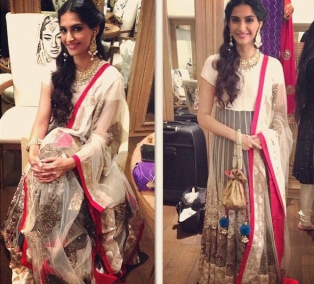 wardrobe-essentials-for-indian-brides-sonam-kapoor-anarkali-suit