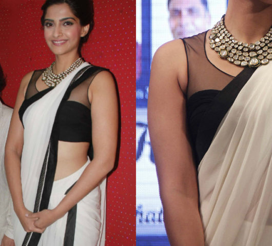 wardrobe-essentials-for-indian-brides-sonam-kapoor-sheer-blouse