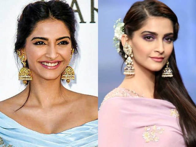 wardrobe-essentials-for-indian-brides-traditional-jewellary-jumki-earrings-sonam-kapoor