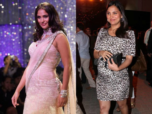 yummy-mummies-of-bollywood-lara-dutta-baby-bump