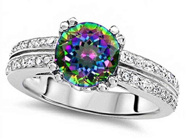 best-engagement-rings-for-brides-colorful-gems-diamond-ring-muti-dimensional