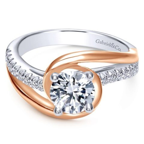 best-engagement-rings-for-brides-mixed-metals-rose-gold-diamond-ring-2