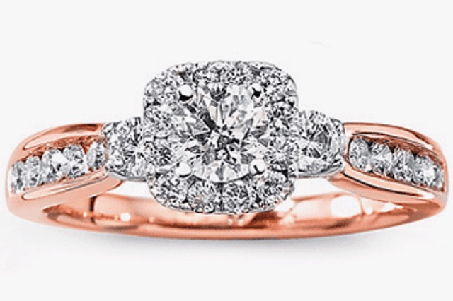 best-engagement-rings-for-brides-mixed-metals-rose-gold-diamond-ring