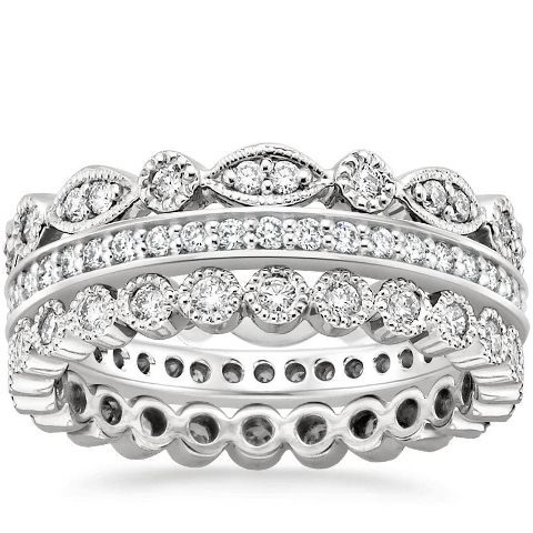 best-engagment-rings-for-brides-stacked-bands-diamond-ring-3