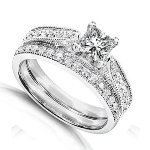 best-engagment-rings-for-brides-stacked-bands-diamond-ring