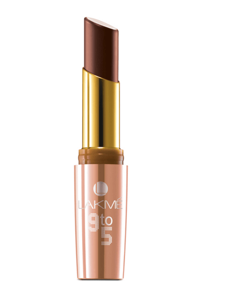 best-nude-lipsticks-for-dusky-indian-skin-lakme-9-to-5-coffee-command-lipstick