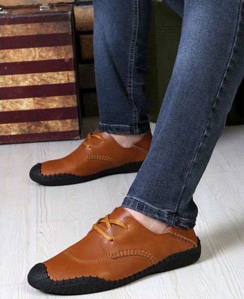 casual-shoes-for-men-black-wing-leather-shoes