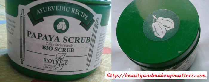 Biotique-Papaya-Scrub-Jar