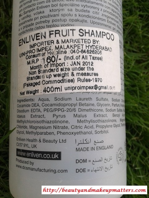 Enliven-Red-Apple-and-Raspberry-Shampoo-Review1