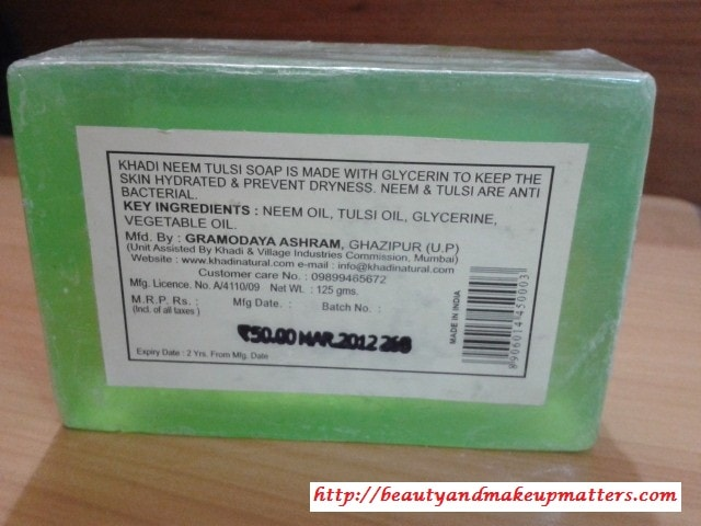 Khadi-Neem-Soap-Review