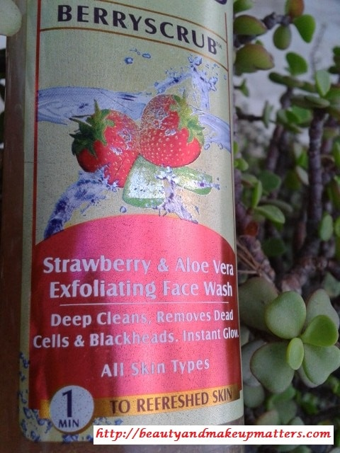 Lotus-Herbals-Berry-Scrub-Exfoliating-Face-Wash-Review