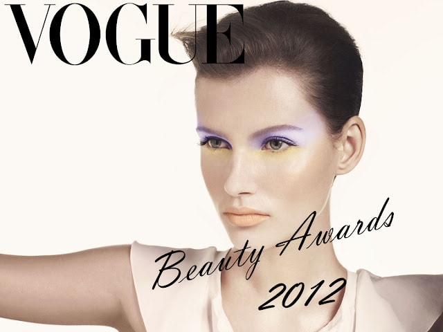 vogue beauty awards 2012 winners
