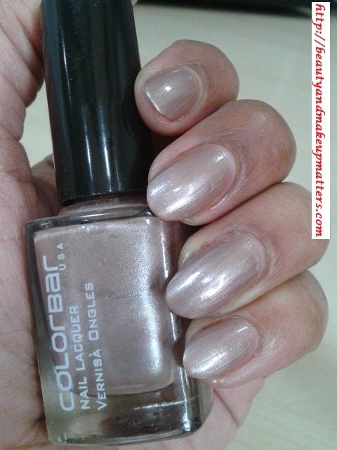 Colorbar-Nail-Enamel-Mulberry-NOTD