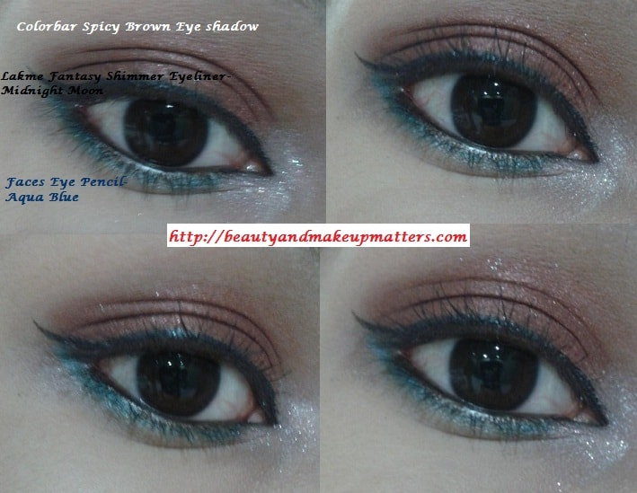 Colorbar-Spicy-Brown-Eyeshadow-EOTD