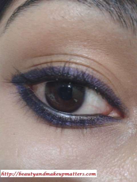 Faces-Eye-Liner-Purple-EOTD