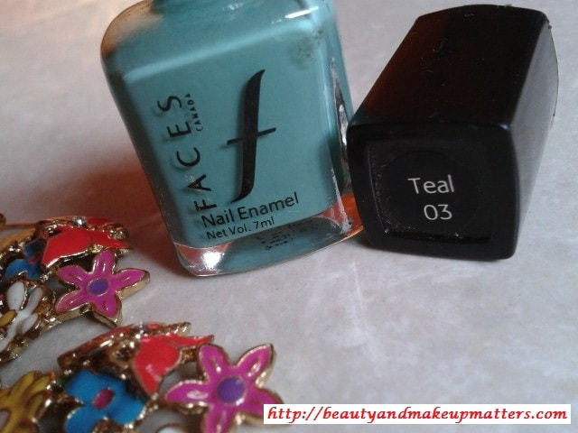 Faces-Nail-Enamel-Teal-Review