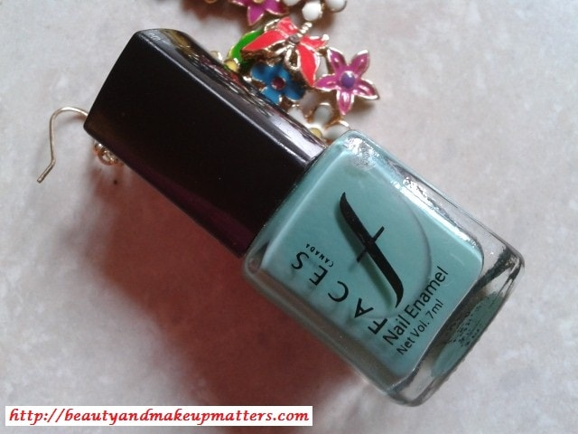 Faces-Nail-Paint-Teal-Review