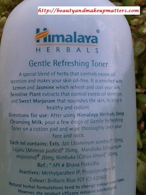 Himalaya-Herbals-Gentle-Refreshing-Toner-Claims