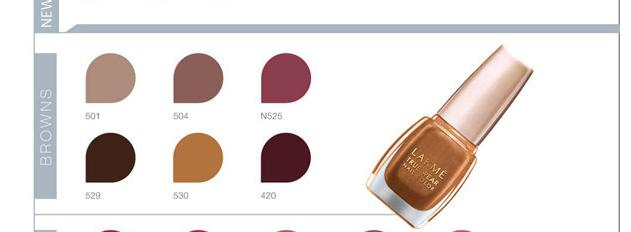 Lakme-Brown-NailPaints