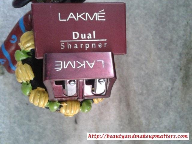 Lakme-Dual-Pencil-Sharpener-Review