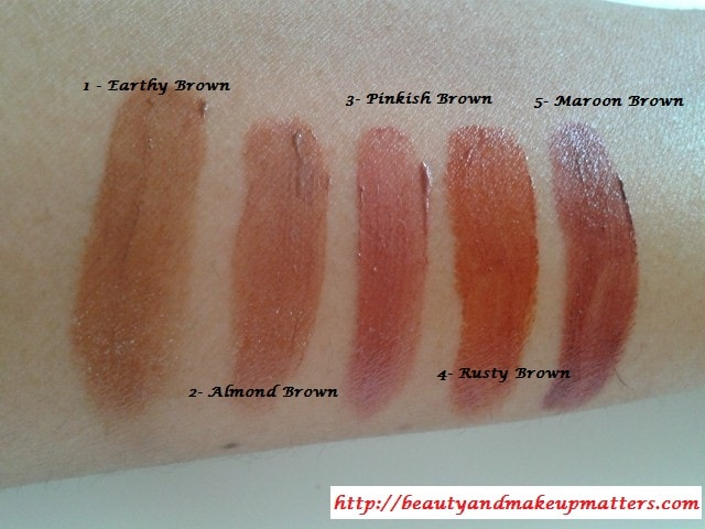 Lakme-Lip-Palette-Swatches