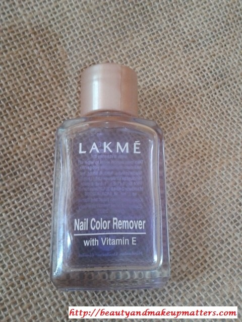 Lakme-Nail-Polish-Remover-Review