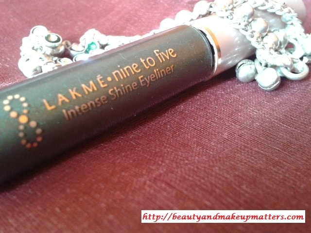 Lakme-Nine-To-Five-Eye-Liner-Olive-Review