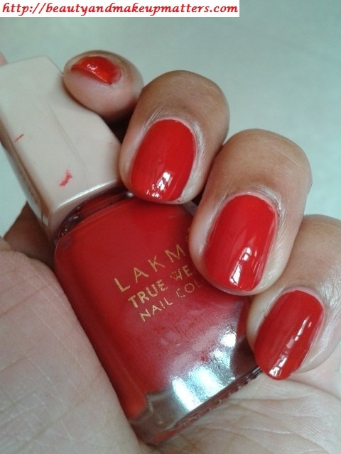 Lakme-True-Wear-Nail-Color-Siren-Red-Swatch