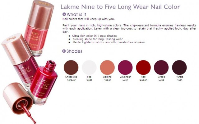Lakme9to5NailPaint