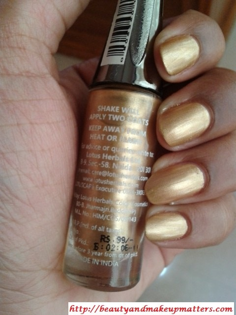 Lotus-Herbals-Nail-Enamel-Gold-Mist-Claims