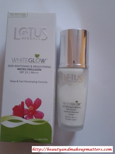 Lotus-WhiteGlow-Micro-Emulsion-Review
