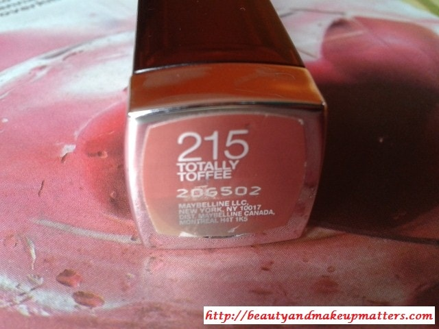 Maybelline-Color-Sensational-Lipstick-Totally-Toffee