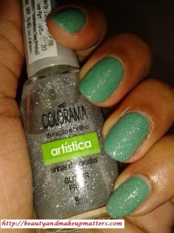 Maybelline-Coloroma-Nail-Polish-Glitter-Prata-NOTD