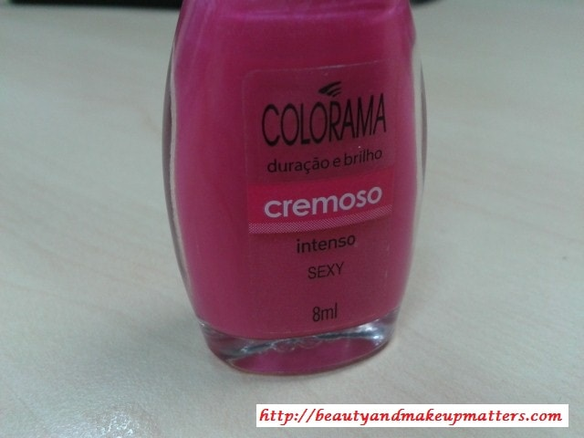 Maybelline-Coloroma-Nail-Polish-Sexy-Review