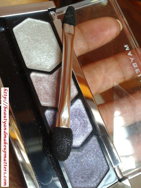 Maybelline-Diamond-Glow-Quad-Lilac-Mauve-Eye-Shadow-Review